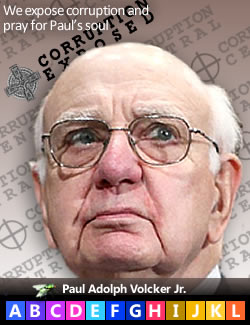 Paul Adolph Volcker, Jr.