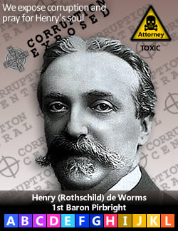 Henry (Rothschild) de Worms 1st Baron Rothschild